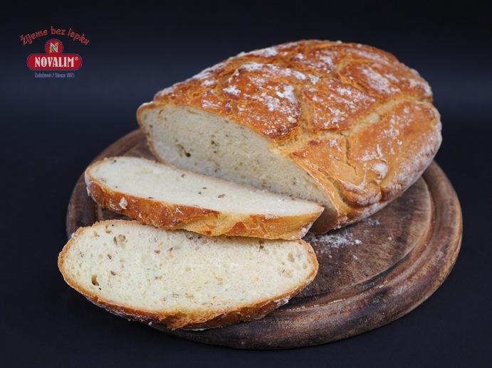 rustikálny chlieb bez lepku