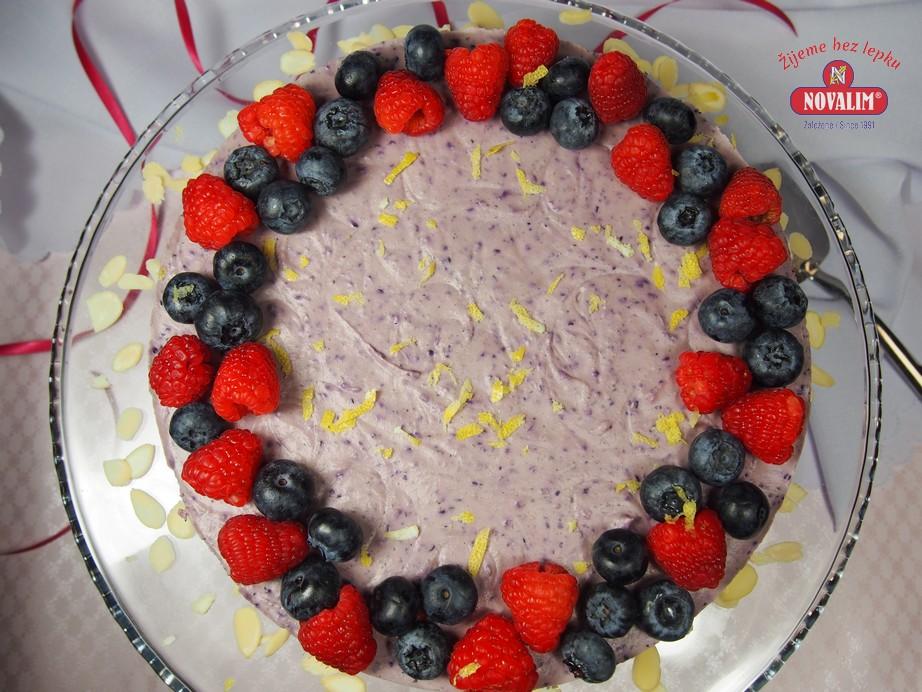 Nepečená torta bez lepku